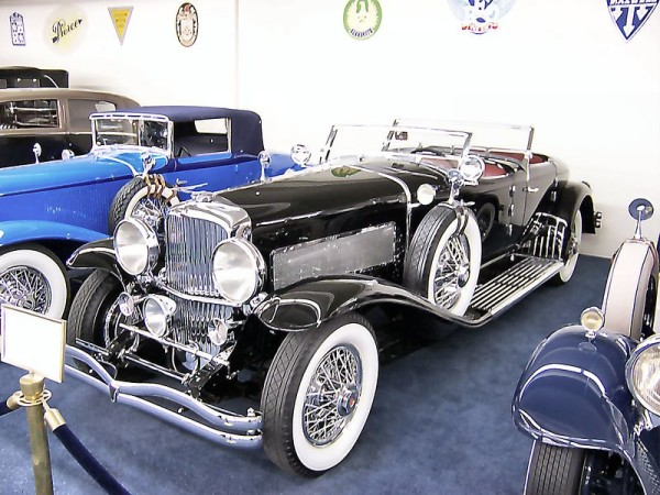 Model J Duesenberg car built in 1929