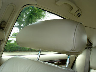 Also called a head rest, the head restraint was patented by Benjamin Katz in 1921